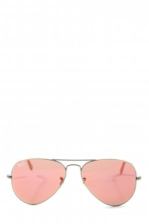 Ray Ban Butterfly Brille nude-goldfarben Casual-Look