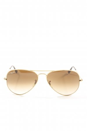Ray Ban Butterfly Brille goldfarben Casual-Look