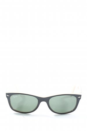 Ray Ban Square Glasses black casual look