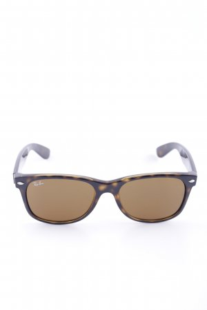 Ray Ban Butterfly Glasses brown-primrose color gradient business style