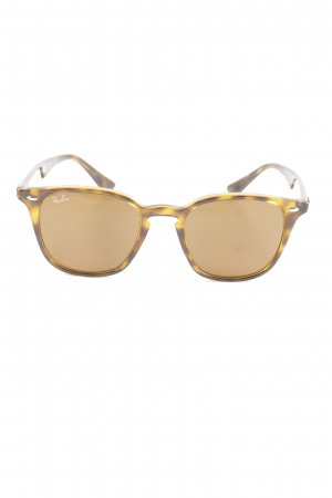 Ray Ban Butterfly Glasses brown-primrose color gradient casual look