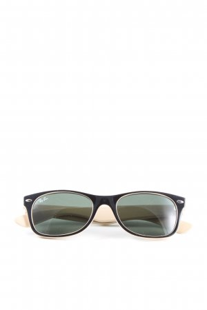Ray Ban Butterfly Brille schwarz-creme Casual-Look