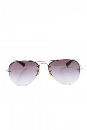 Ray Ban Pilot Brille goldfarben-pink Casual-Look