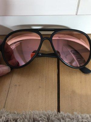 Ray Ban Aviator Glasses rose-gold-coloured-black