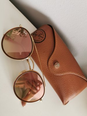 Ray Ban Gafas color rosa dorado