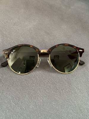 Ray ban clubmaster sonnenbrille oval