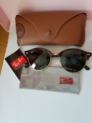 Ray Ban Gafas de sol redondas color oro-marrón