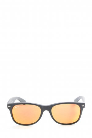 Ray Ban eckige Sonnenbrille hellorange Casual-Look