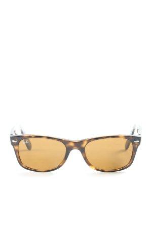 Ray Ban Gafas de sol cuadradas marrón look casual