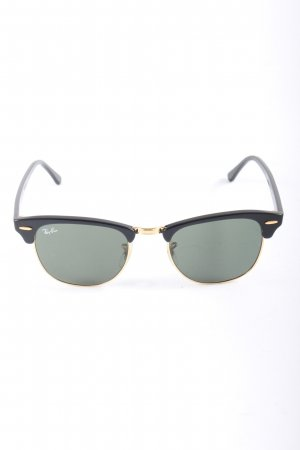 Ray Ban eckige Sonnenbrille schwarz Casual-Look