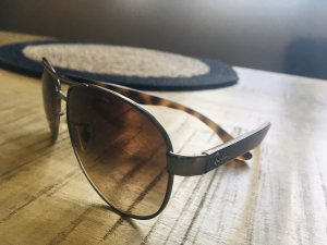 Ray Ban Gafas color plata-marrón