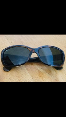 Ray Ban Oval Sunglasses brown-black