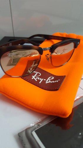 Ray Ban Gafas de sol redondas color oro-rosa