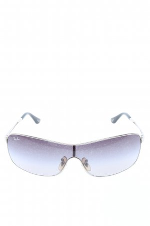 Ray Ban Vierkante bril blauw casual uitstraling