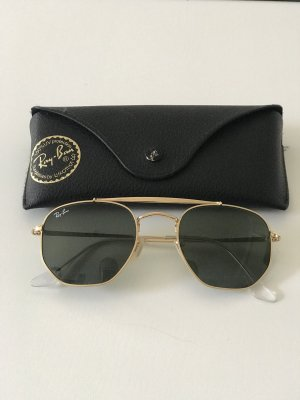 Ray Ban Gafas de sol cuadradas marrón arena-caqui