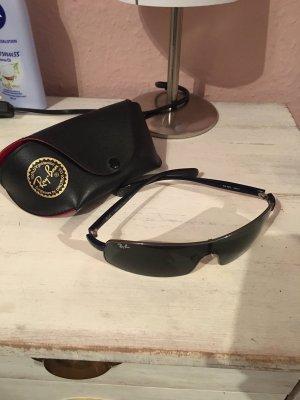 Ray Ban Gafas de sol cuadradas negro-azul oscuro