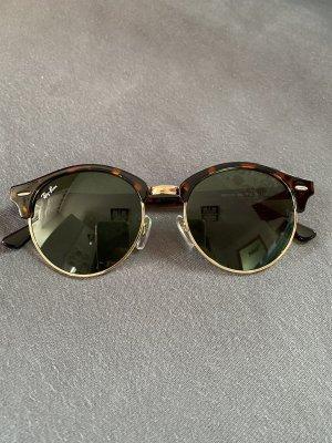 Ray Ban Owalne okulary przeciwsłoneczne Wielokolorowy Szkło