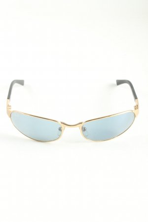 Ray Ban ovale Sonnenbrille blau Casual-Look