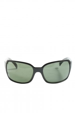 Ray Ban Oval Sunglasses black casual look