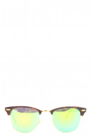 Ray Ban Panto Glasses brown color gradient casual look