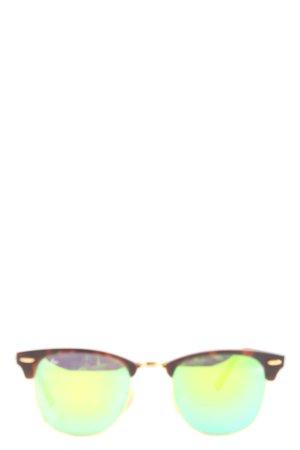 Ray Ban Panto bril bruin kleurverloop casual uitstraling