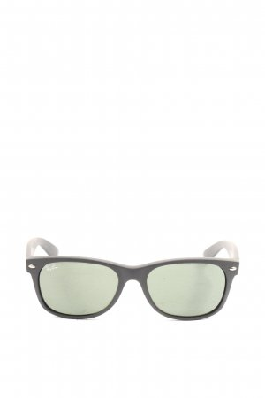 Ray Ban Panto Brille schwarz Casual-Look