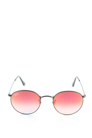 Ray Ban Panto Glasses light orange-black casual look