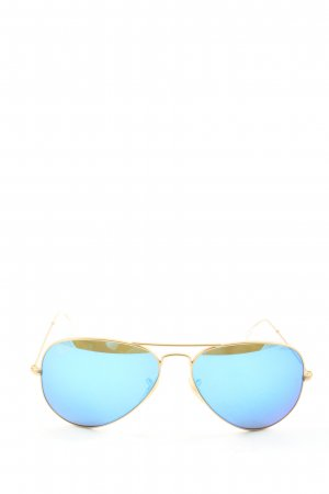 Ray Ban Pilot Brille blau Casual-Look