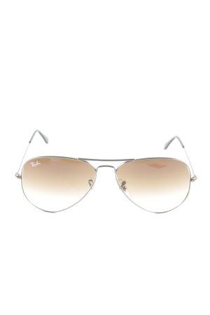 Ray Ban Pilotenbril bruin kleurverloop casual uitstraling