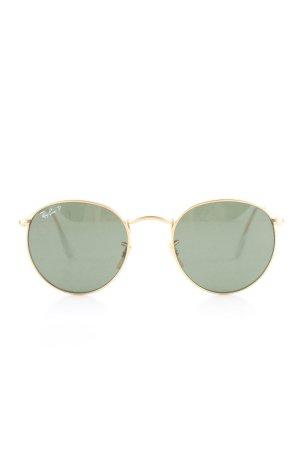 Ray Ban Pilot Brille goldfarben-khaki Casual-Look