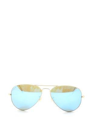 Ray Ban Pilot Brille goldfarben Casual-Look