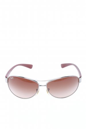 Ray Ban Pilot Brille rot Casual-Look