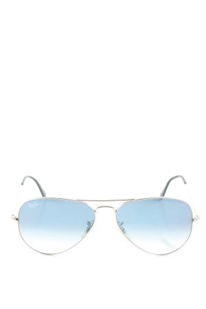Ray Ban Pilot Brille blau Farbverlauf Casual-Look