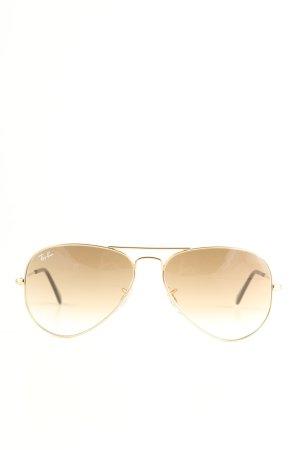 Ray Ban Pilot Brille braun-goldfarben Casual-Look