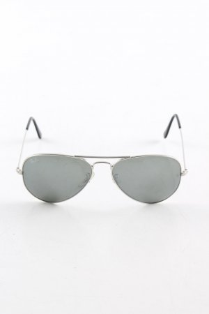 Ray Ban Pilot Brille schwarz Casual-Look