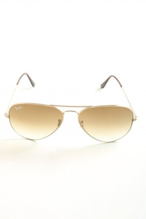 Ray Ban Pilot Brille creme Casual-Look
