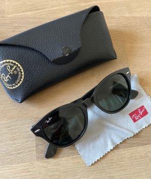 Ray Ban Gafas de sol redondas negro tejido mezclado