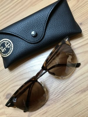 Ray Ban Oval Sunglasses bronze-colored-brown