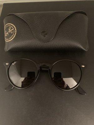 Ray Ban Gafas de sol redondas negro-color plata