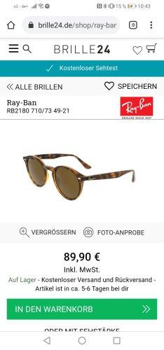 Ray Ban Lunettes de soleil rondes multicolore