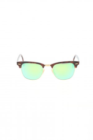 Ray Ban Retro Brille Allover-Druck Casual-Look