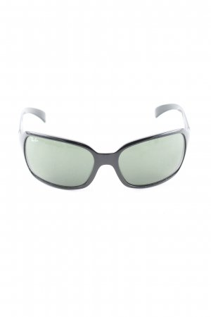 Ray Ban Retro Brille schwarz Casual-Look