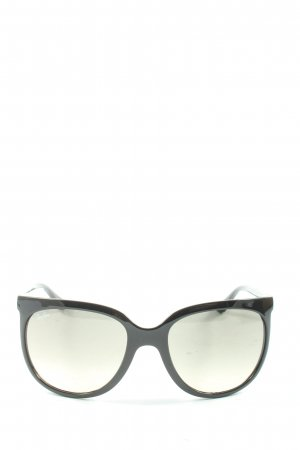 Ray Ban Retro Glasses black casual look