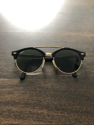 Ray Ban Retro Brille schwarz-goldfarben