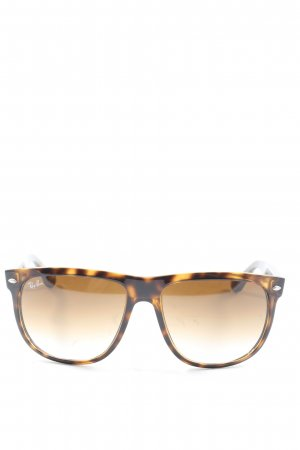 Ray Ban Retro Glasses black-primrose allover print casual look