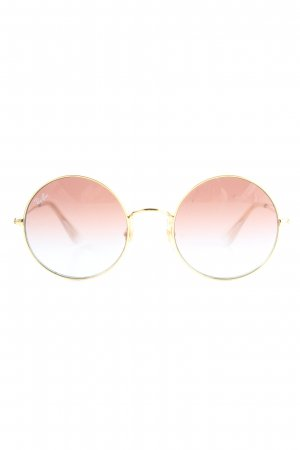 Ray Ban runde Sonnenbrille Farbverlauf Casual-Look