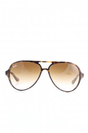 Ray Ban Round Sunglasses black-brown casual look