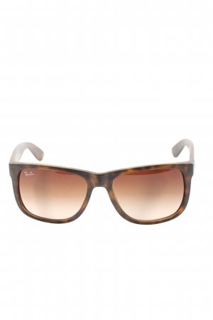 Ray Ban Round Sunglasses brown-black casual look