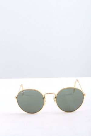 Ray Ban runde Sonnenbrille goldfarben Casual-Look