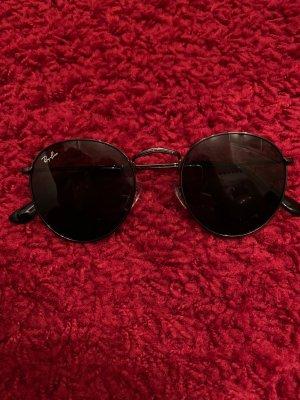 Ray Ban Lunettes de soleil ovales gris foncé-gris anthracite verre